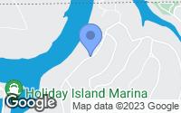Map of Holiday Island, AR