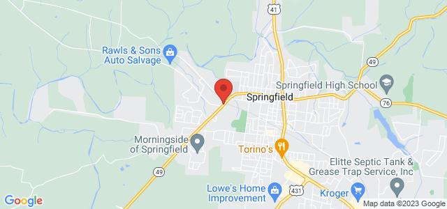 Springfield Florist, Inc. Map