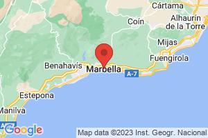 Map of Marbella