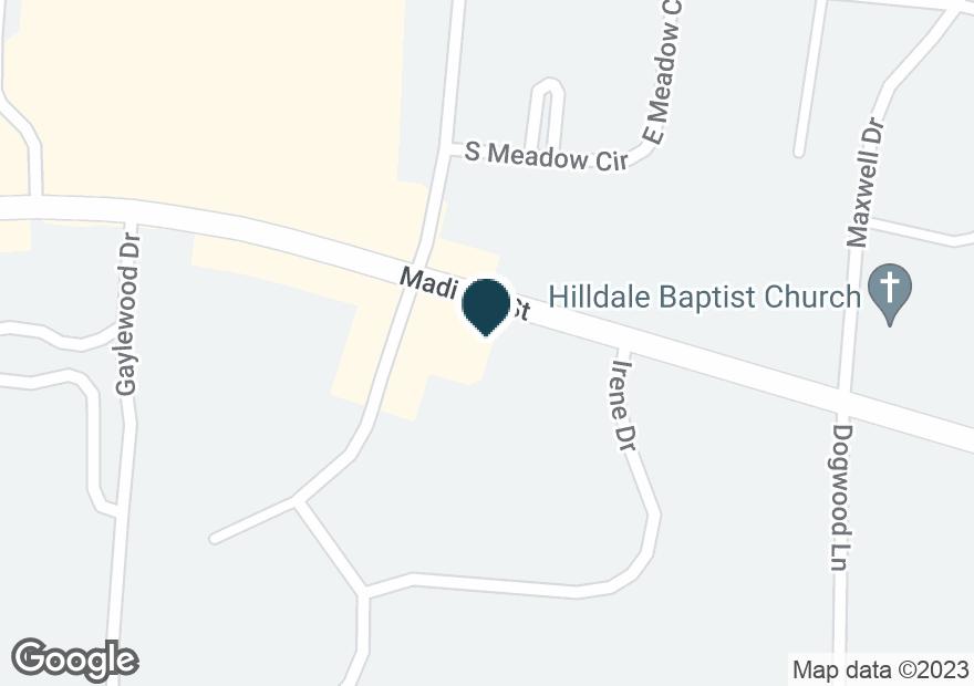 Google Map of1954 MADISON ST