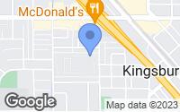 Map of Kingsburg, CA