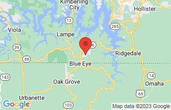 Map of Blue Eye