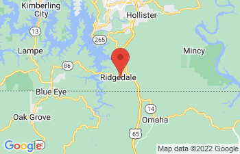 Map of Ridgedale