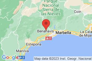 Map of Costa del Sol