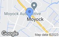 Map of Moyock, NC