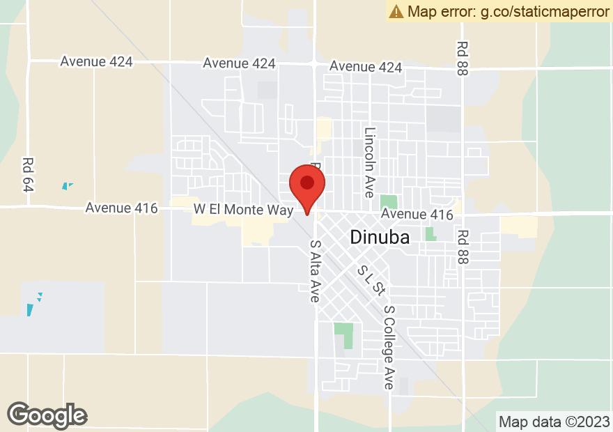 Google Map of 170 W EL MONTE WAY