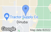 Map of Dinuba, CA