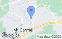 Map of Mount Carmel, TN