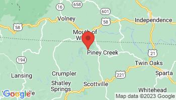 Map of Piney Creek