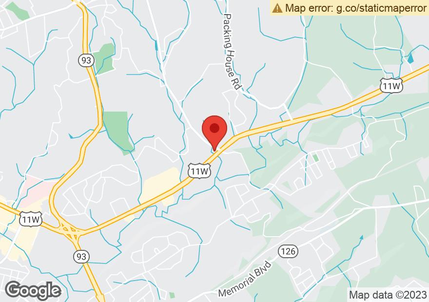 Google Map of 2790 E STONE DR