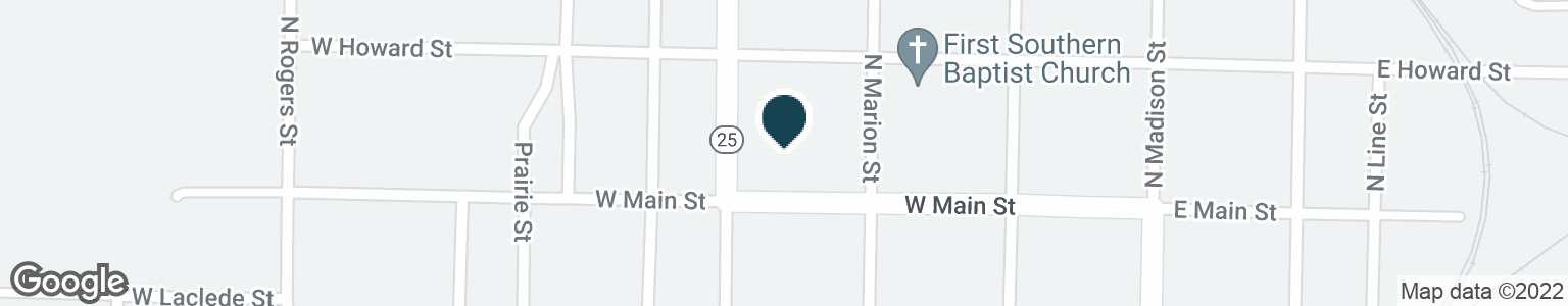Google Map of310 W MAIN ST