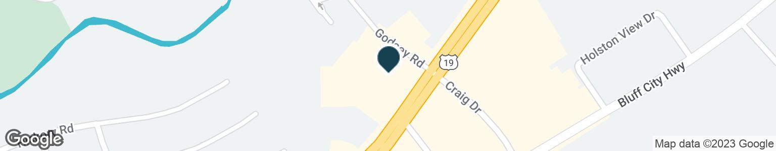 Google Map of1388 VOLUNTEER PKWY