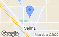 Map of Selma, CA