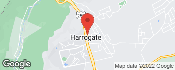 Map of 118 Nettleton Rd in Harrogate