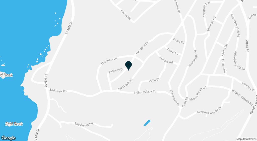 3141 Hacienda Pebble Beach CA 93953