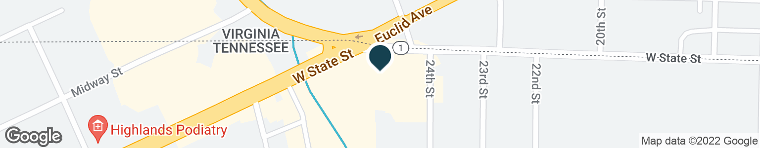 Google Map of2412 W STATE ST
