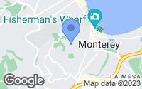 Map of Monterey, CA