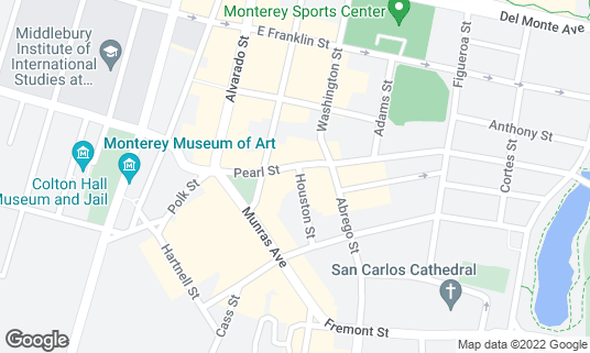 Map of Alfredo's Cantina at 266 Pearl St Monterey, CA