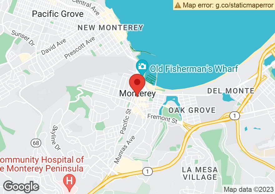Google Map of 416 ALVARADO ST
