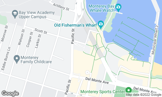 Map of Indian Summer at 220 Olivier St Monterey, CA