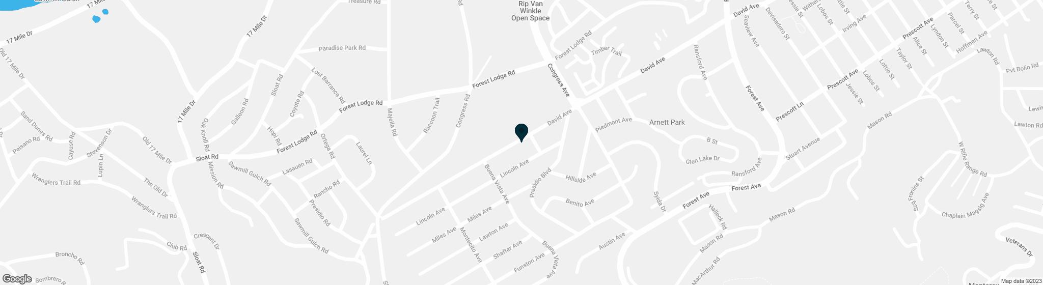 1105 David Pacific Grove CA 93950