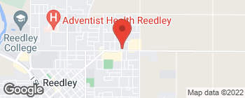 Map of 1318 E Manning Ave in Reedley