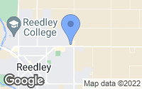 Map of Reedley, CA