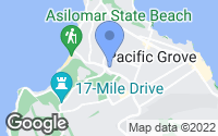 Map of Pacific Grove, CA