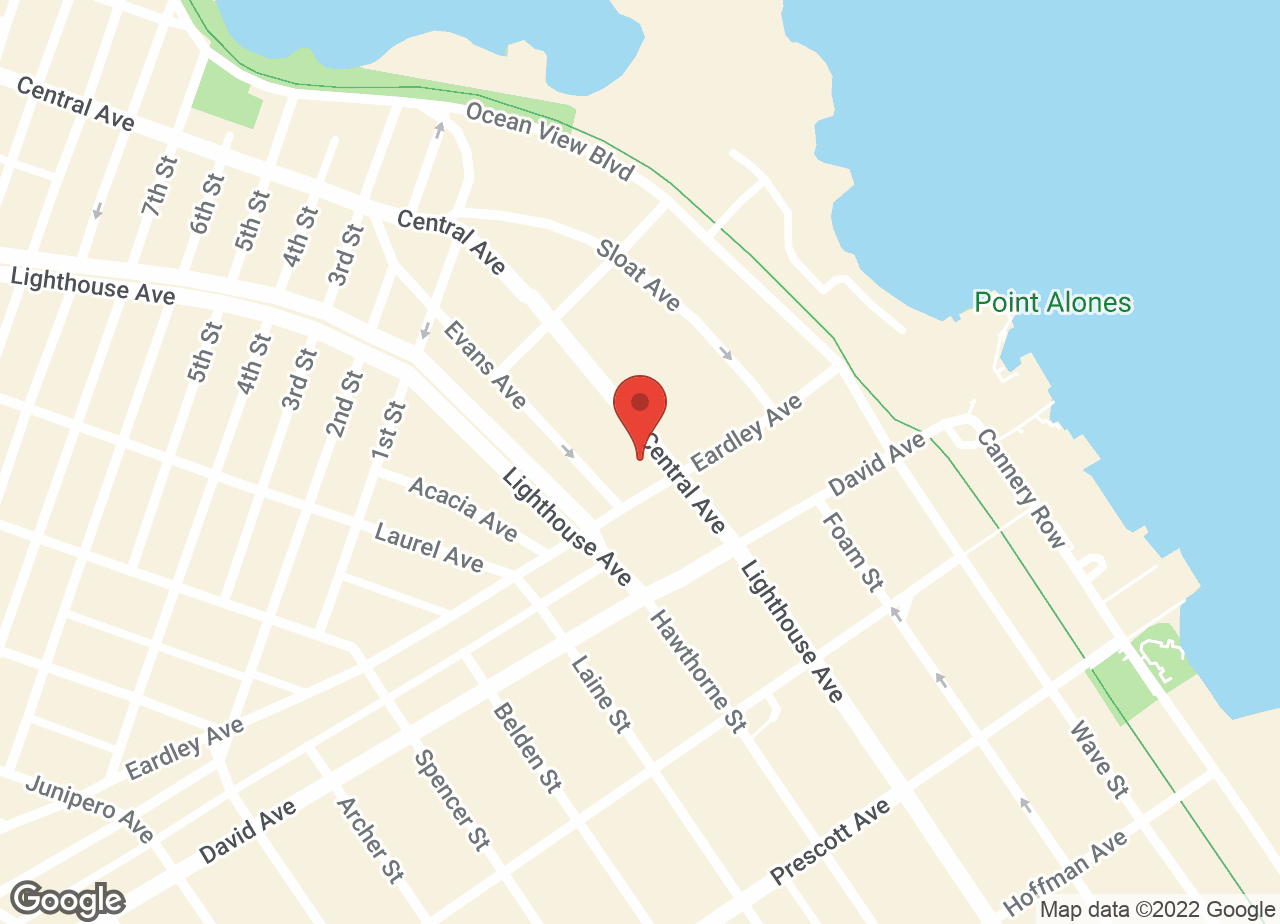 Google Map of VCA Ocean View Animal Hospital