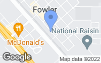 Map of Fowler, CA