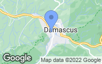 Map of Damascus, VA