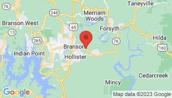 Map of Branson