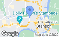 Map of Branson, MO