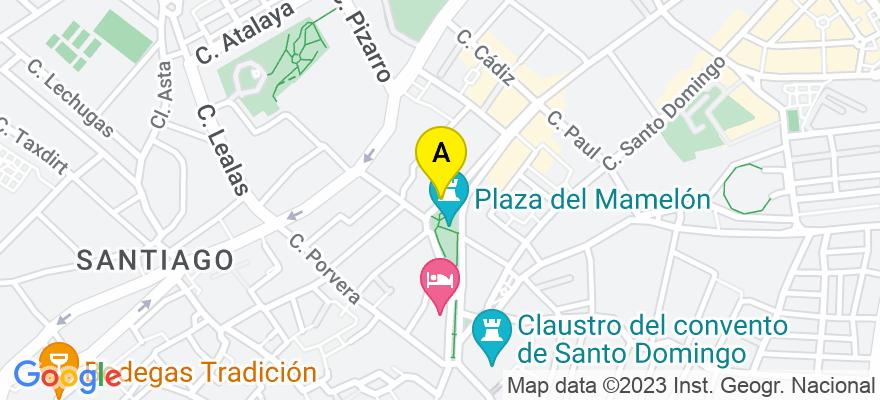 situacion en el mapa de . Direccion: CALLE SEVILLA 17, 11402 Jerez de la Frontera. Cádiz