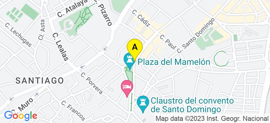 situacion en el mapa de . Direccion: Sevilla, 11407 Jerez de la Frontera. Cádiz