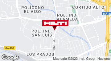 Obtener indicaciones para Tienda Hilti-Málaga