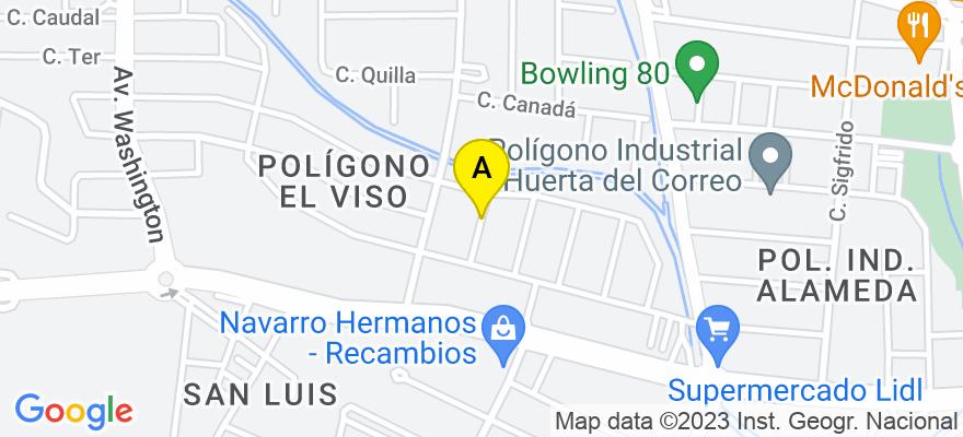 situacion en el mapa de . Direccion: C/ALCALDE OROZCO POADA Nº7, 29006 Málaga. Málaga