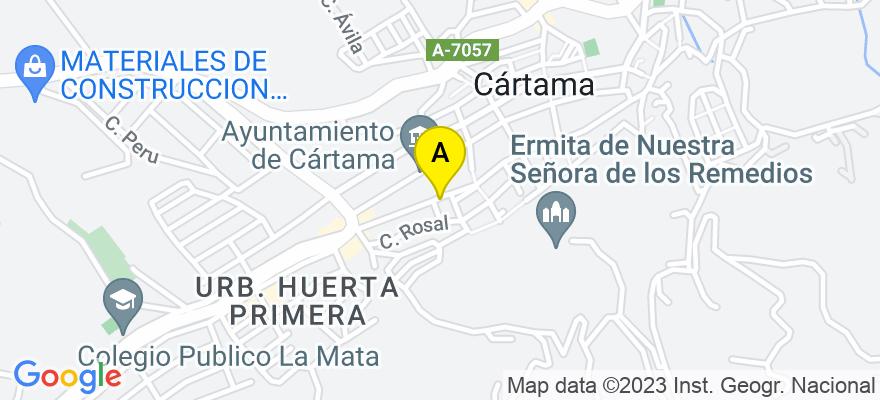 situacion en el mapa de . Direccion: C/ El Viento, 1, 29570 Cártama. Málaga