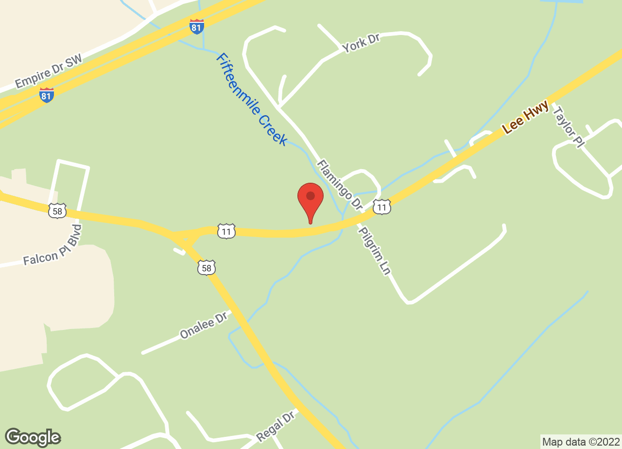 Google Map of VCA Highlands Animal Hospital