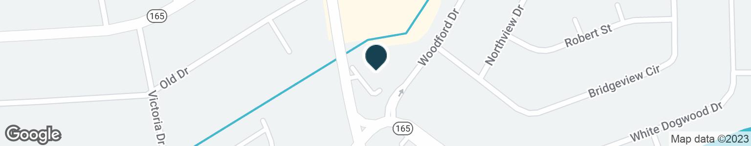 Google Map of321 BATTLEFIELD BLVD S
