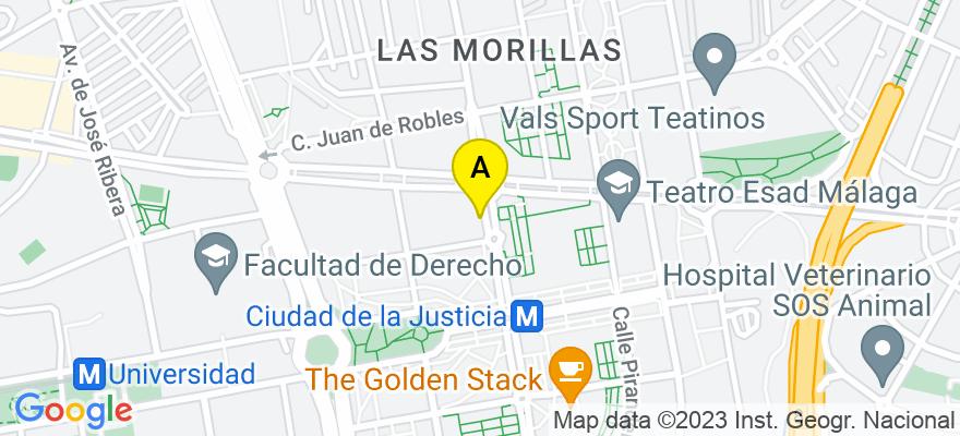situacion en el mapa de . Direccion: Avenida Gregorio Prieto 19, portal D, 4-2, 29010 Málaga. Málaga