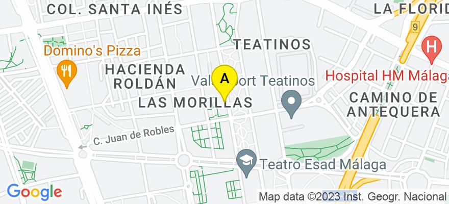 situacion en el mapa de . Direccion: Orson Welles Nº 28 4º G, 29010 Málaga. Málaga