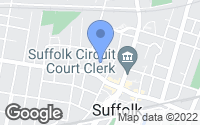 Map of Suffolk, VA