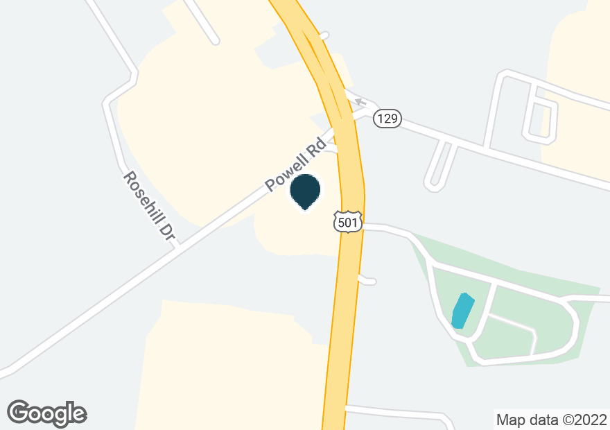 Google Map of3220 HALIFAX RD
