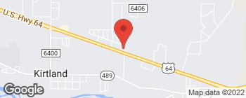 Map of 4292 Highway 64 in Kirtland