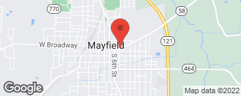 Mapa de 302 E Broadway en Mayfield