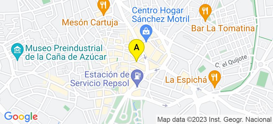 situacion en el mapa de . Direccion: Plaza de Bustamante,6 3B, 18600 Motril. Granada