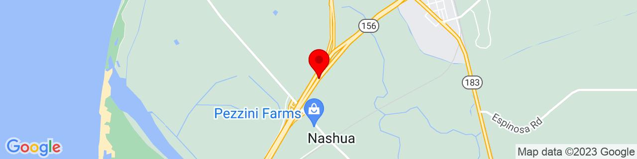 Google Map of 36.7495369, -121.7679195