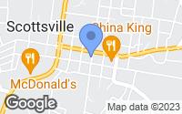 Map of Scottsville, KY