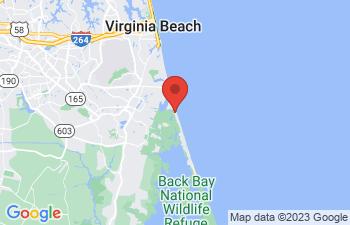 Map of Sandbridge Beach